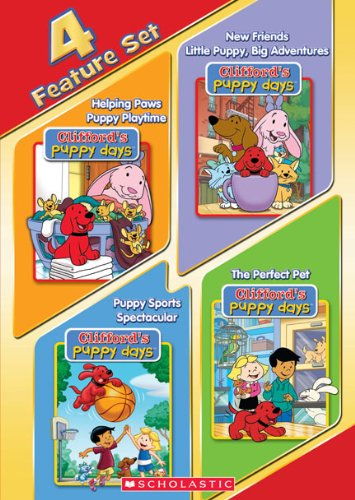 Clifford's Puppy Days (Four Feature Set)