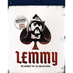 Lemmy: 49% Motherf**ker, 51% Son of a Bitch [Blu-ray]