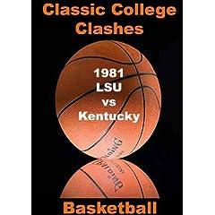 1981 LSU vs Kentucky - Basketball