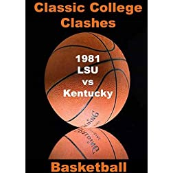 1981 LSU vs Kentucky - Basketball