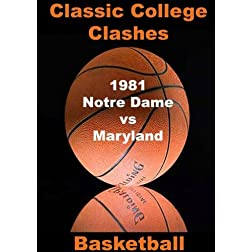1981 Notre Dame vs Maryland