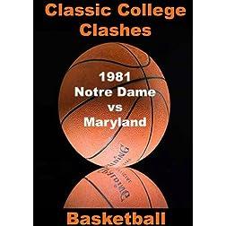 1981 Notre Dame vs Maryland