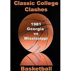 1981 Georgia vs Mississippi - Basketball