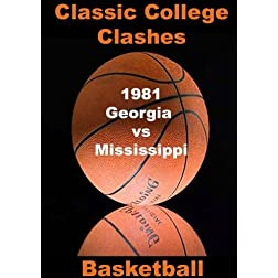 1981 Georgia vs Mississippi - Basketball