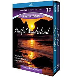 Living Landscapes: Pacific Wonderland [Blu-ray]