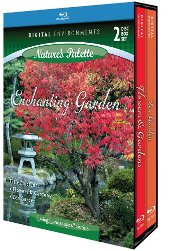 Living Landscapes: Enchanting Garden [Blu-ray]