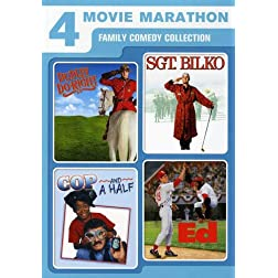 4 Movie Marathon: Family Comedy Collection (Dudley Do-Right / Sgt. Bilko / Cop and a Half / Ed)