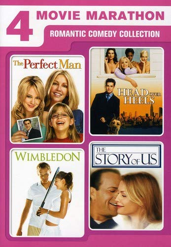 4 Movie Marathon: Romantic Comedy Collection (The Perfect Man / Head Over Heels / Wimbledon / The Story of Us)