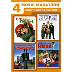 4 Movie Marathon: Comedy Favorites Collection (Cross My Heart / Fierce Creatures / Opportunity Knocks / Splitting Heirs)