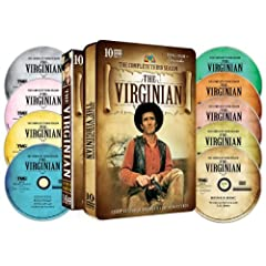 The Virginian - The Complete Third Season - Special Embossed Tin - 10 DVD Set!