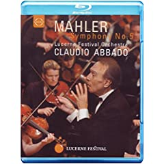 Abbado Conducts Mahler: Symphony 5 [Blu-ray]