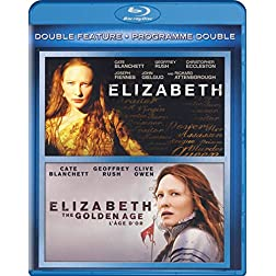 Elizabeth / Elizabeth: The Golden Age (Double Feature) [Blu-ray]