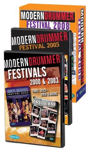 Modern Drummer Super Pack  Modern Drummer Fest 2000/2003/2005/2008