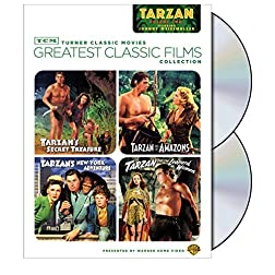 TCM Greatest Classic Films Collection: Tarzan, Vol. 2 (Tarzan's Secret Treasure / Tarzan and the Amazons / Tarzan's New York Adventure / Tarzan and the Leopard Woman)