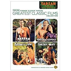 TCM Greatest Classic Films Collection: Tarzan, Vol. 1 (Tarzan the Ape Man / Tarzan Escapes / Tarzan Finds a Son! / Tarzan and His Mate)