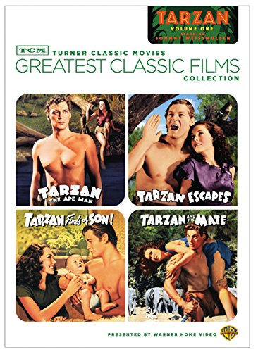 TCM Greatest Classic Films Collection: Tarzan, Vol. 1 (Tarzan the Ape Man / Tarzan Escapes / Tarzan Finds a Son! / Tarzan and His Mate)