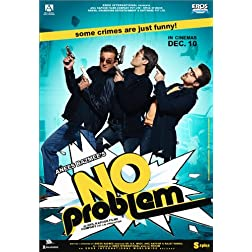 No Problem (New Hindi Comedy Film / Bollywood Movie / Indian Cinema DVD)