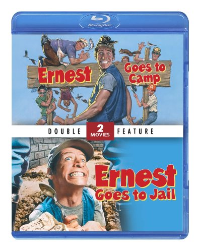 Ernest Double Feature: Ernest Goes to Camp & Ernest Goes to Jail [Blu-ray]