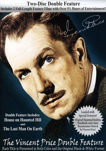 The Vincent Price Double Feature with House on Haunted Hill & The Last Man on Earth