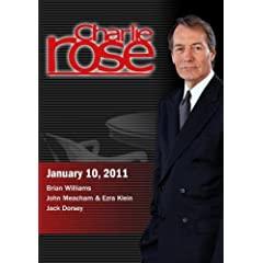 Charlie Rose - Brian Williams / John Meacham & Ezra Klein / Jack Dorsey (January 10, 2011)