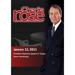 Charlie Rose - President Obama's speech in Tucson  / Karen Armstrong (January 12, 2011)
