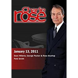 Charlie Rose - Sean Wilentz, George Packer & Ross Douthat / Patti Smith (January 13, 2011)