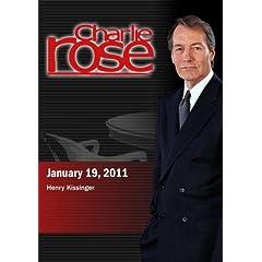 Charlie Rose - Henry Kissinger (January 19, 2011)