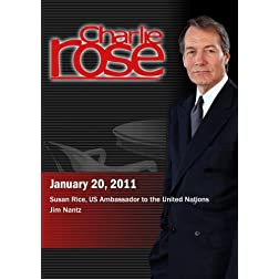Charlie Rose - Susan Rice / Jim Nantz (January 20, 2011)