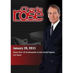 Charlie Rose - Susan Rice / Jim Nantz (January 20, 2011)