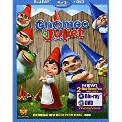 Gnomeo & Juliet (Two-Disc Blu-ray / DVD Combo)