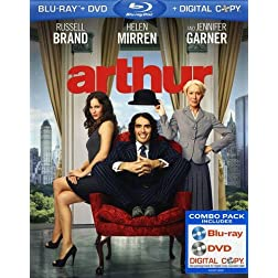 Arthur (Blu-ray/DVD Combo + Digital Copy)