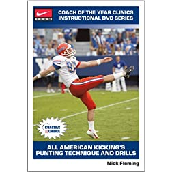 All American Kicking s Punting Technique and Drills