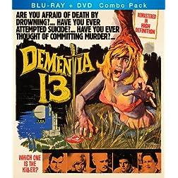 Dementia 13 Blu-Ray + DVD Combo Pack