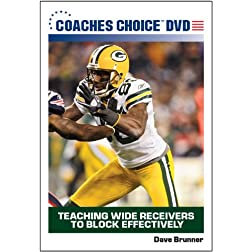 Teaching Wide Receivers to Block Effectively