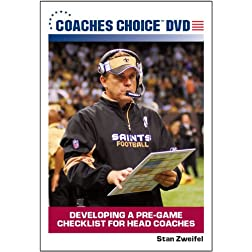 Developing a Pre-Game Checklist for Head Coaches