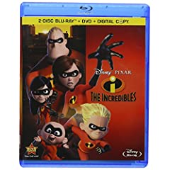 The Incredibles (Four-Disc Blu-ray/DVD Combo + Digital Copy)