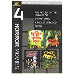 The Return of the Living Dead / Swamp Thing / A Bucket of Blood / Frogs