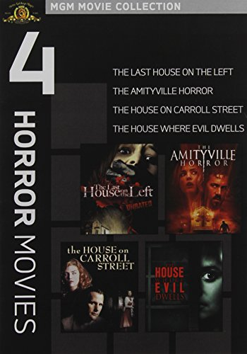The Last House on the Left / The Amityville Horror / The House on Carroll Street / Evil Dead