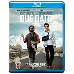 Due Date (Blu-ray/DVD Combo + Digital Copy)