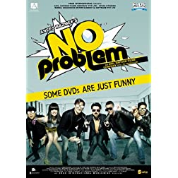 No Problem Bollywood DVD With English Subtitles