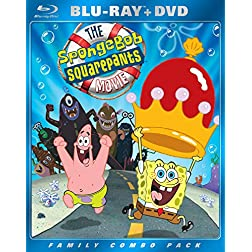 The SpongeBob SquarePants Movie (Two Disc Blu-ray/DVD Combo)