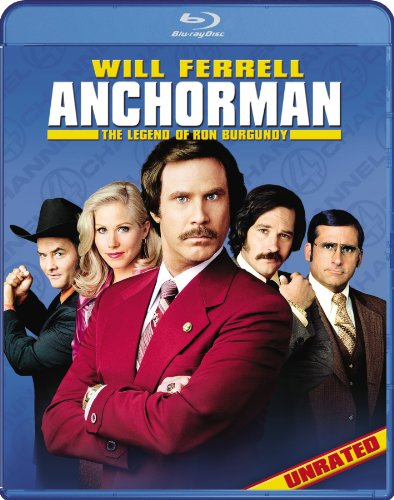 Anchorman: The Legend of Ron Burgundy [Blu-ray]