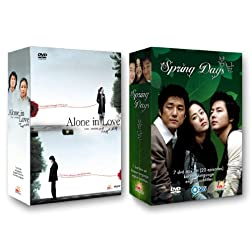 Korean TV Drama 2-pack: Alone in Love + Spring Days