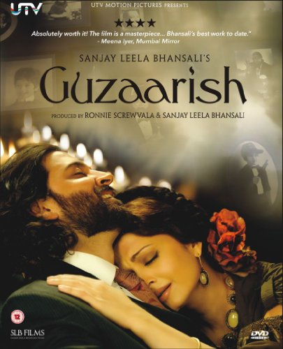 Guzaarish DVD Bollywood DVD With English Subtitles (Sanjay Leela Bhansali)