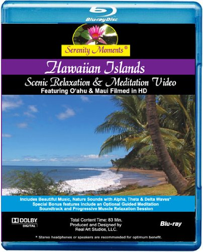 Serenity Moments: Hawaiian Islands Scenic Relaxation [BLU-RAY Movie]