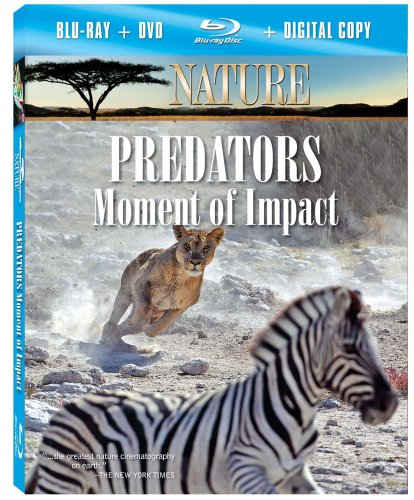 Nature: Predators: Moment of Impact [Blu-ray]