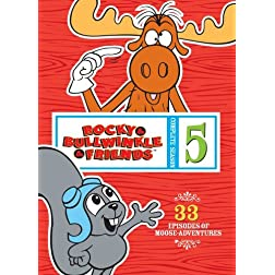 Rocky & Bullwinkle & Friends: Complete 5th Season