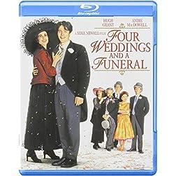 Four Weddings & A Funeral [Blu-ray]