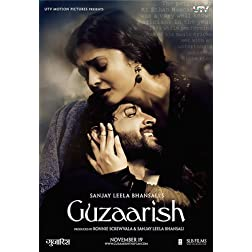 Guzaarish (New Hindi Film / Bollywood Movie / Indian Cinema DVD)