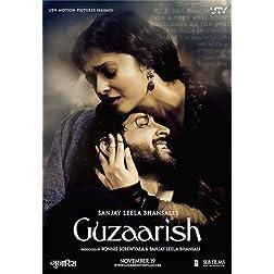 Guzaarish (New Hindi Film / Bollywood Movie / Indian Cinema DVD)